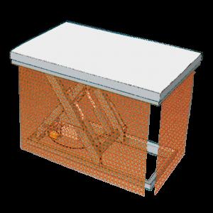 Bild von einem Kettenvorhang