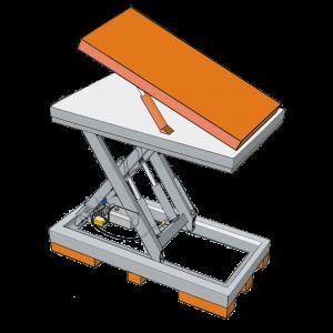 Bild von einer Kipp-Plattform