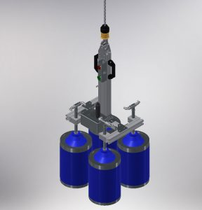 Werkzeug von Manipulator für Fässer