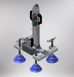 Werkzeug von Manipulator für Glasscheiben
