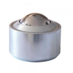 Kugelrolle aus Stahl-massiv ohne Bund