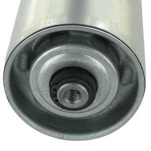 Stahl-Tragrolle mit Achsende Innengewinde